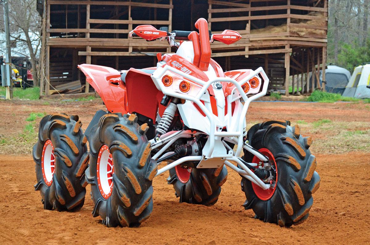 Honda Four Wheelers For Sale >> Dirt Wheels Magazine | PROJECT ATV: Nitrous Renegade