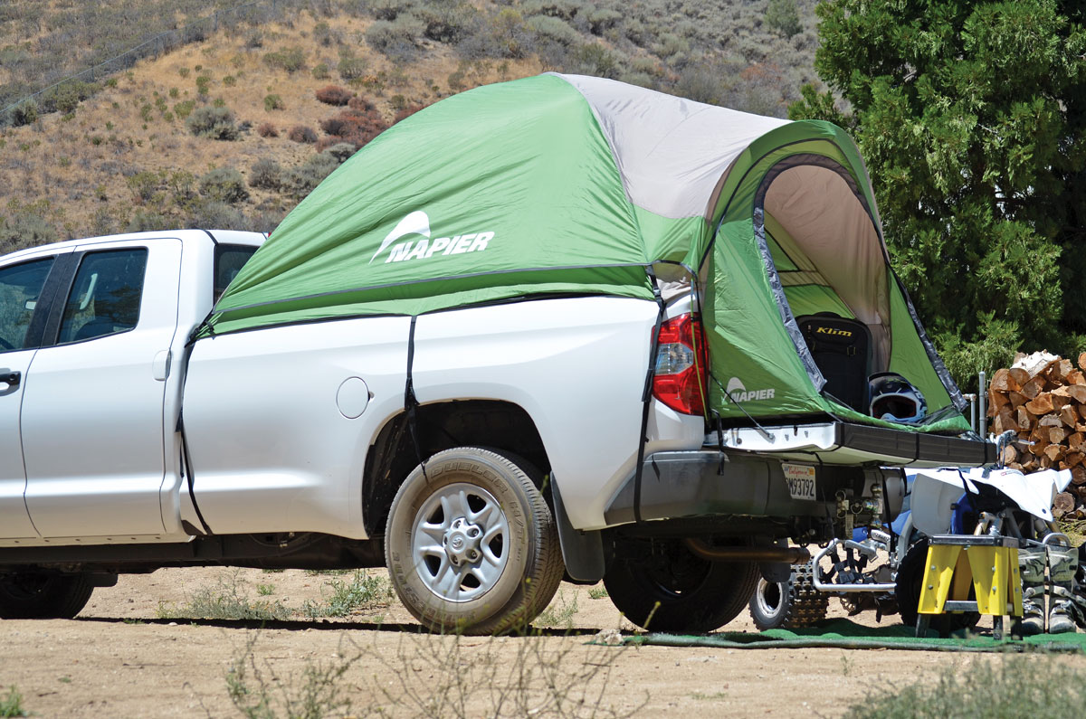 & Truck Tent by Napier | Dirt Wheels Magazine