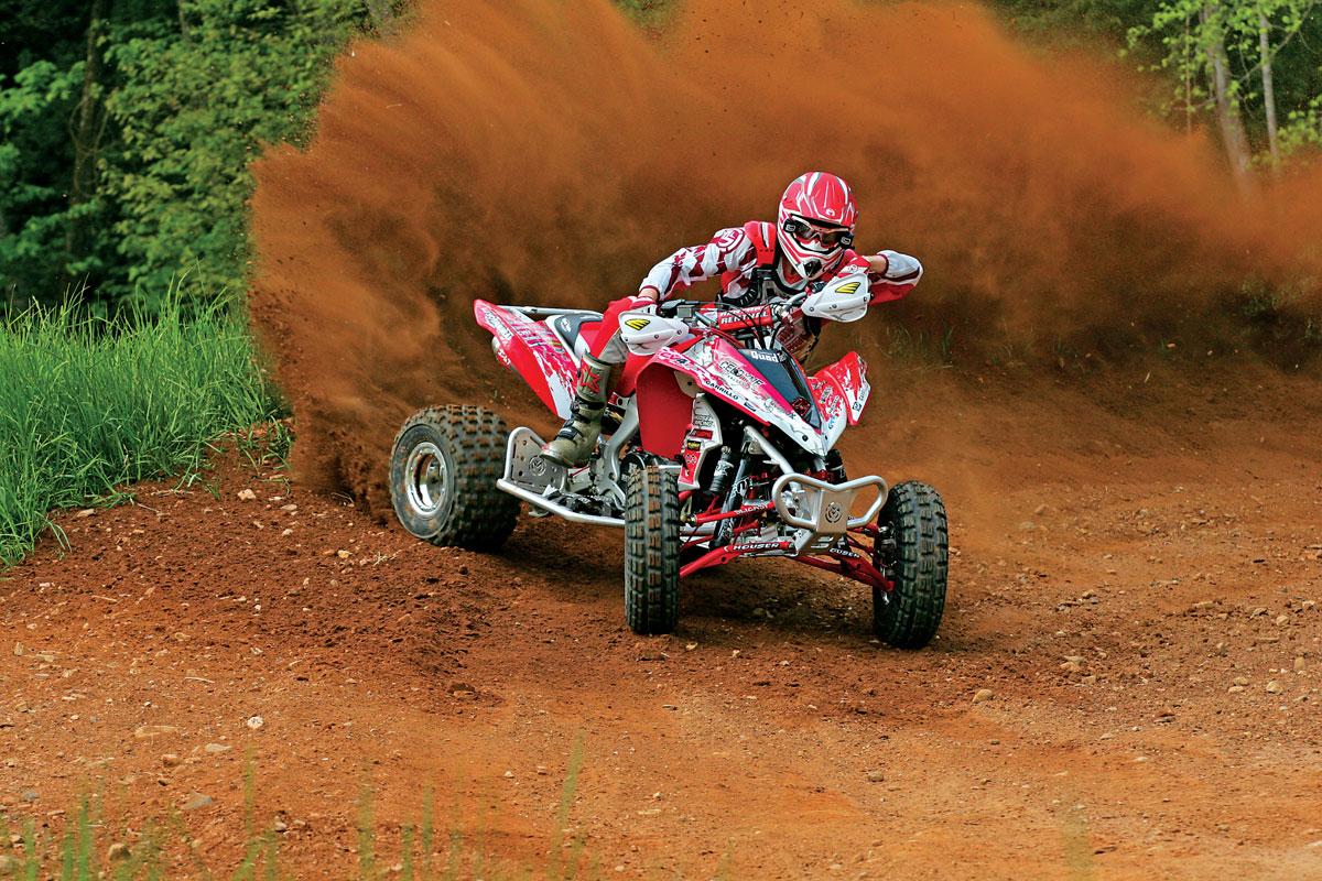 fast quad  kawasaki racer
