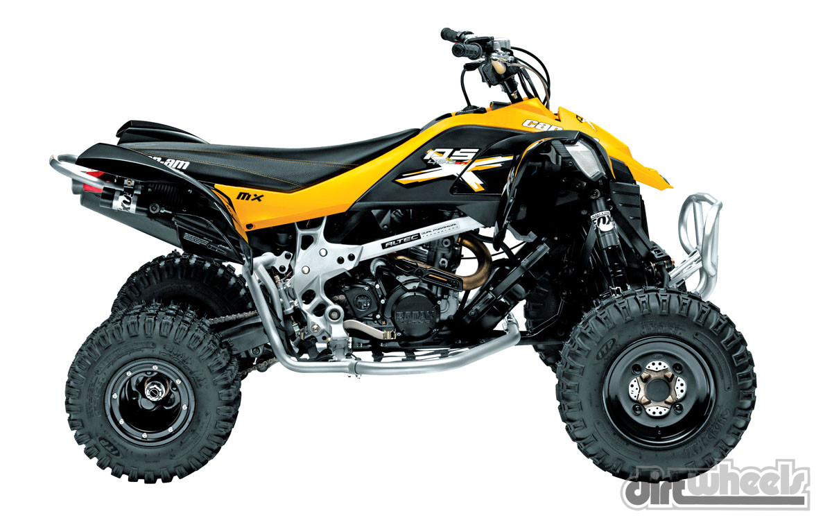 03 Can-Am DS 450 Xweb