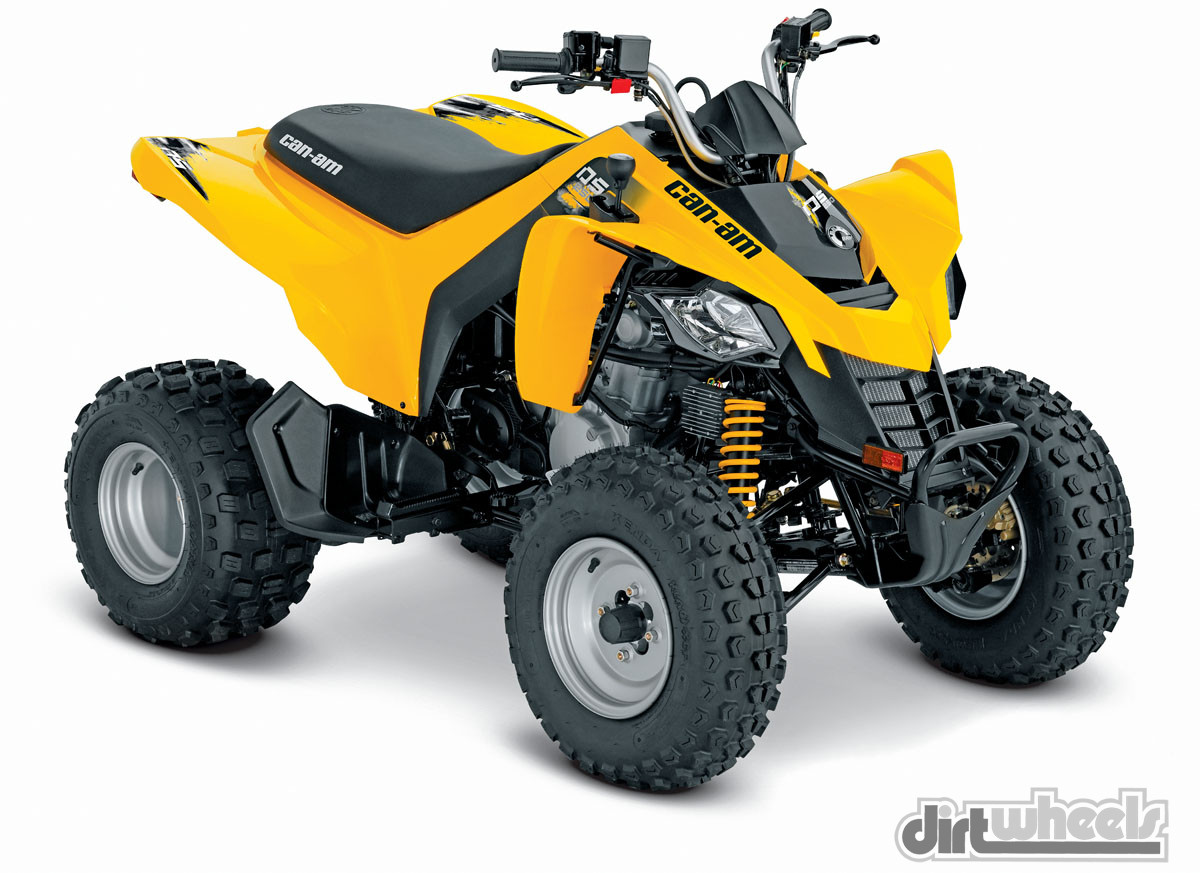 2015 Sport Quad Buyers Guide Dirt Wheels Magazine Honda 3 Wheeler Wiring Diagram 05 Can Am Ds 250web