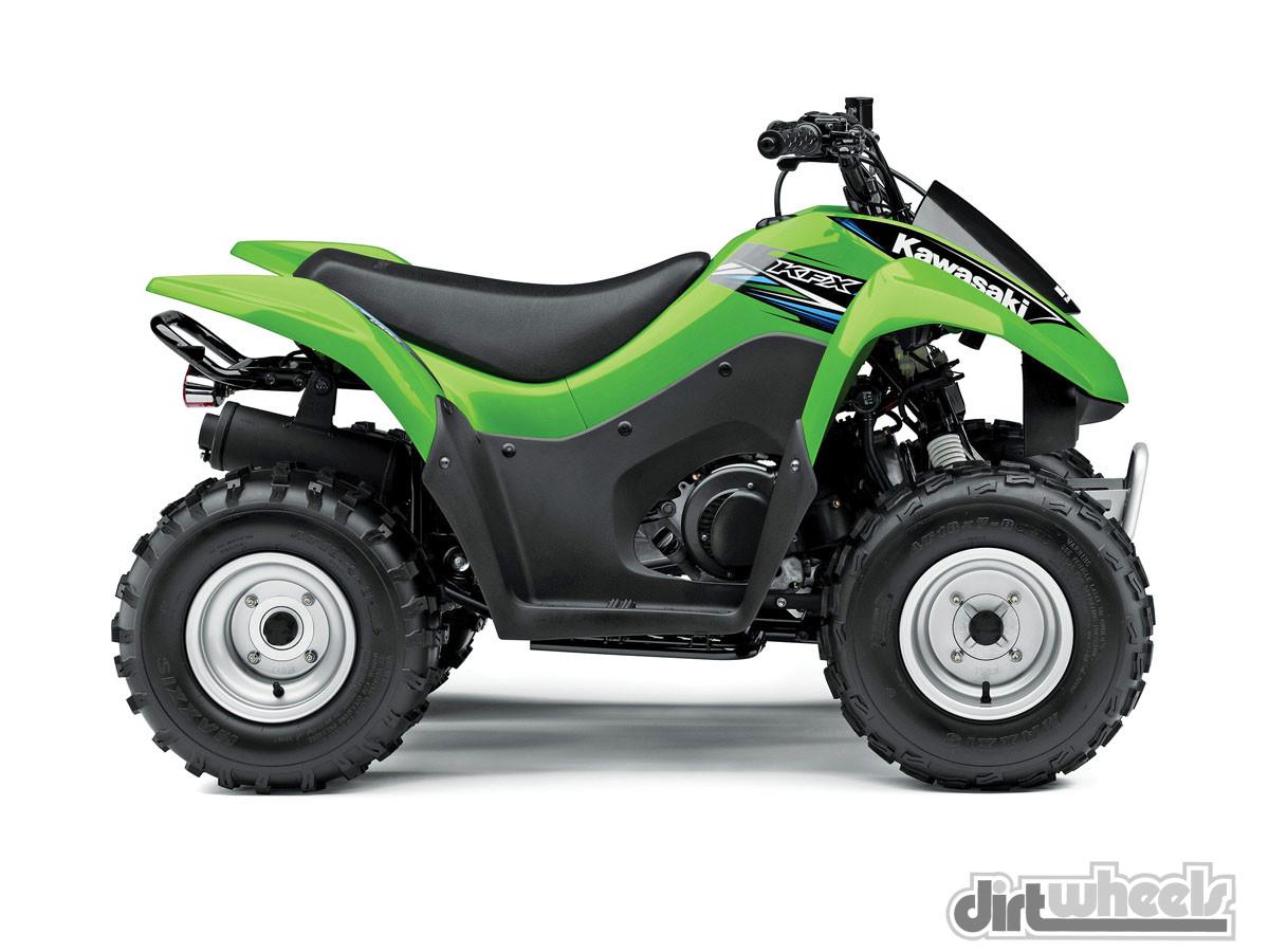 07 Kawasaki KFX90FPOweb. KAWASAKI KFX90 ($2599)