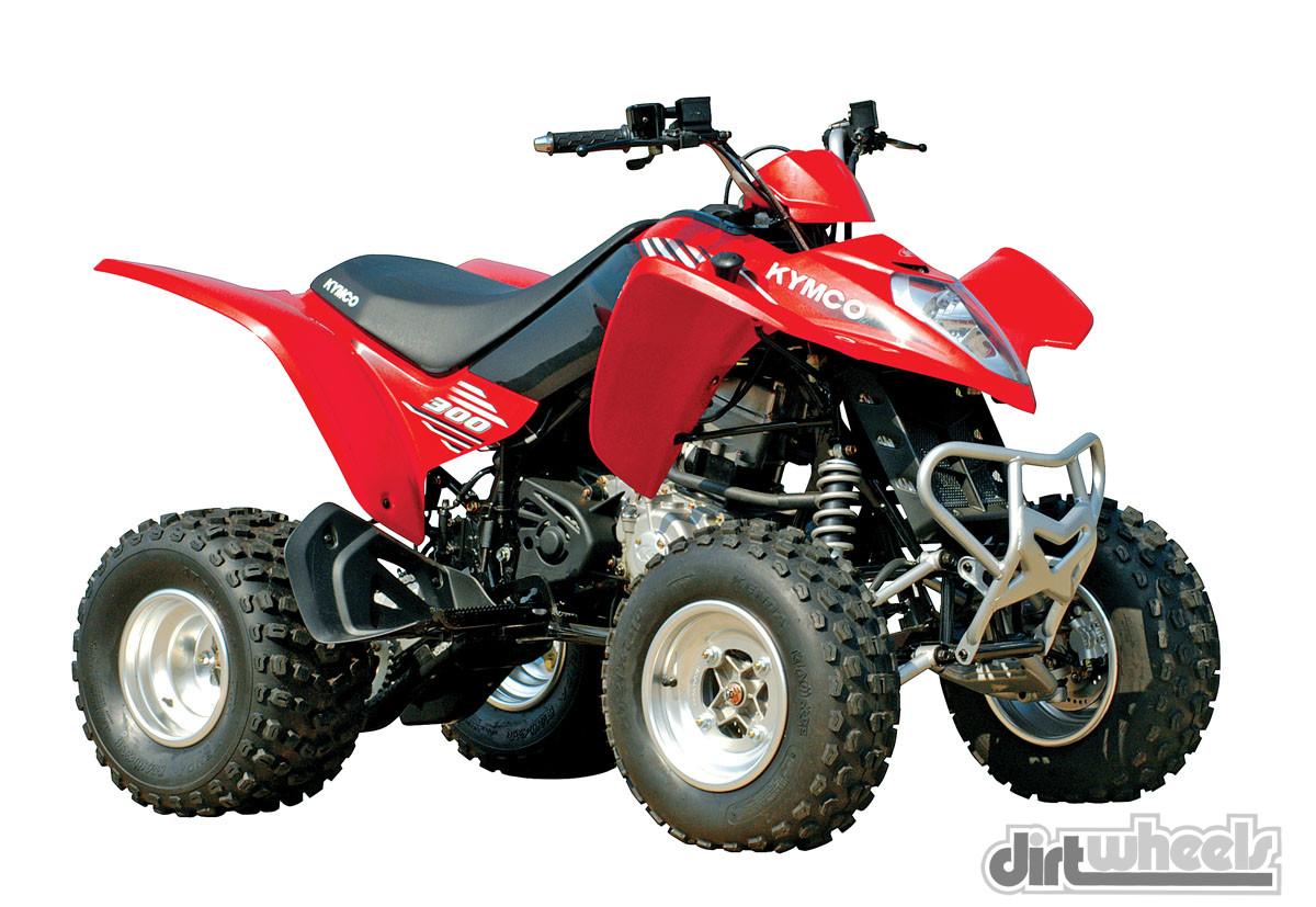 quad kymco 200