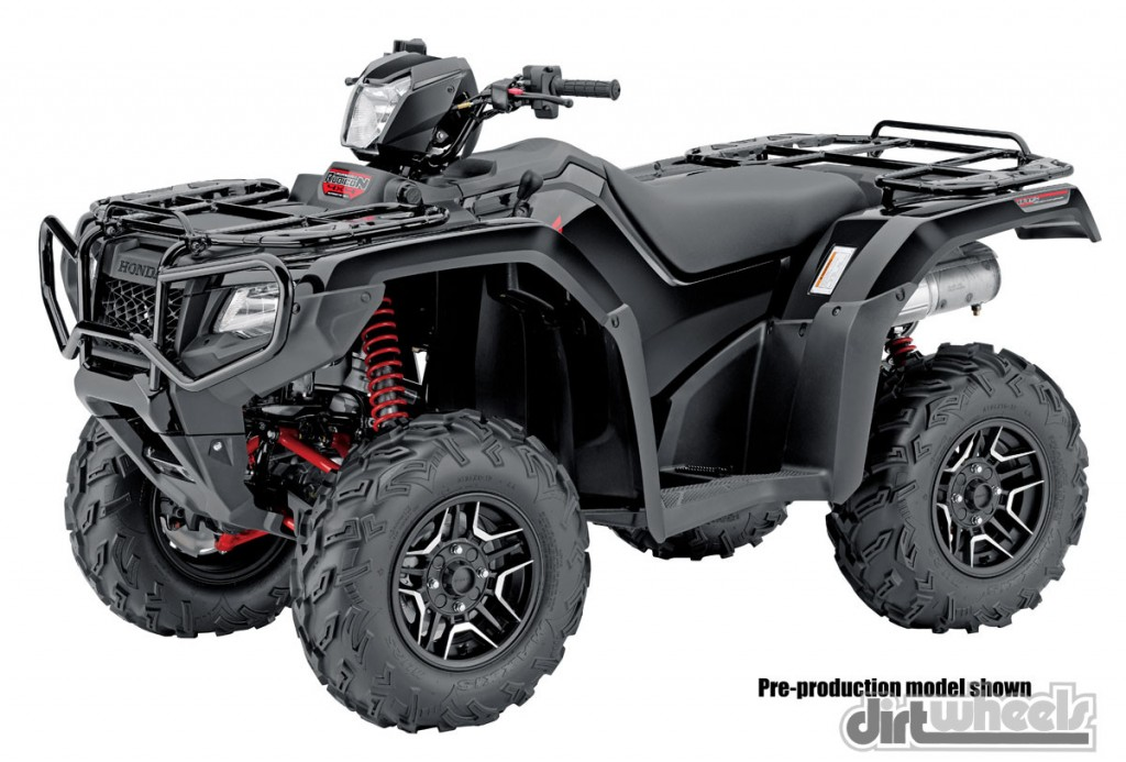 2015 Honda FourTrax Foreman Rubicon 4x4 Automatic DCT EPS.