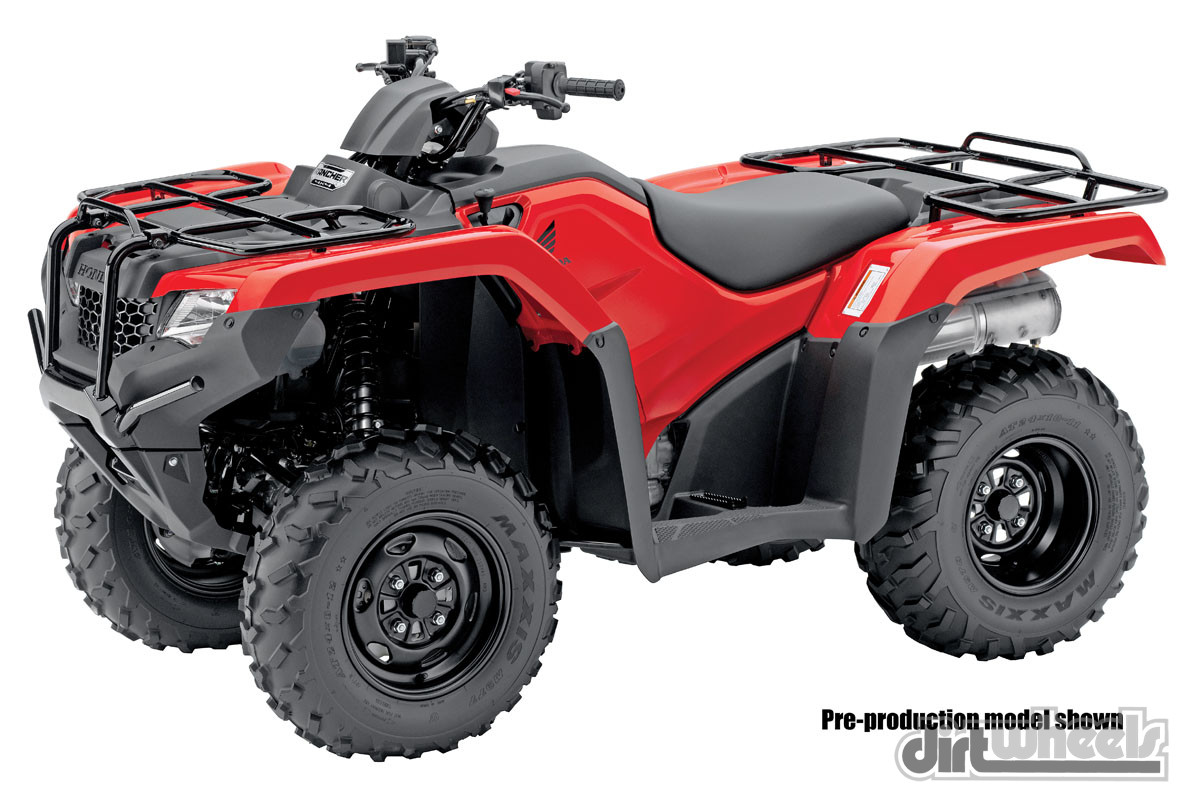 Four Wheelers With Rims : Atv buyer s guide dirt wheels magazine