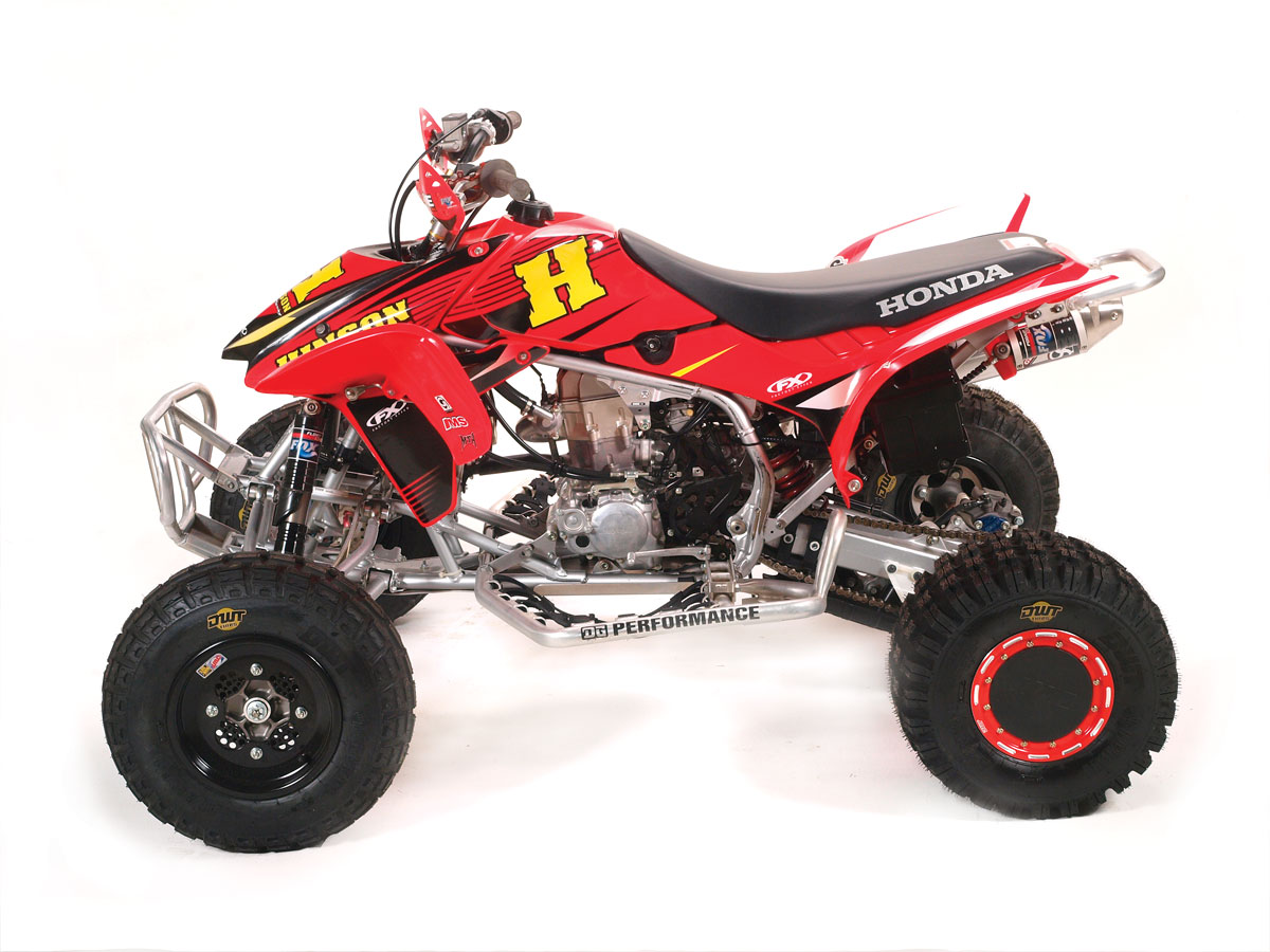 2015 Honda 450R >> ATV TEST: Racing 450 Shootout | Dirt Wheels Magazine