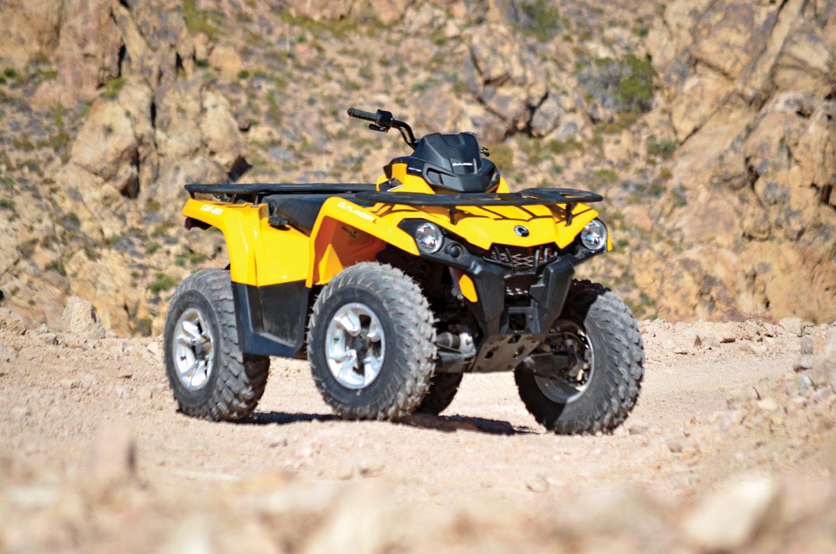 2015 Can Am Outlander L Dps 500 Dirt Wheels Magazine