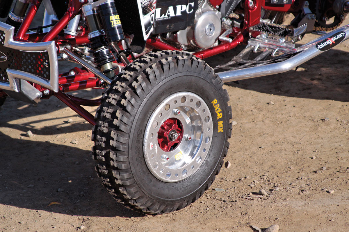 PROJECT ATV: CT Racing LTR 500 | Dirt Wheels Magazine