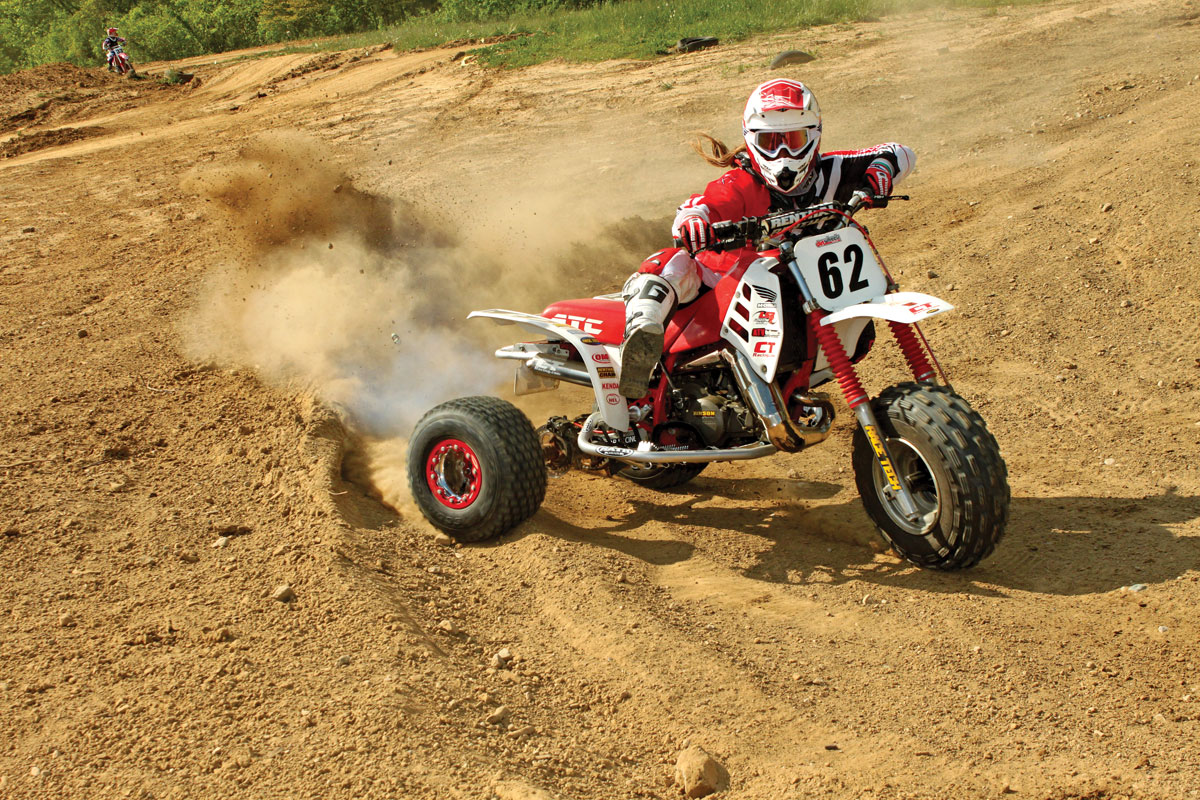 PROJECT ATV: Honda ATC250R | Dirt Wheels Magazine