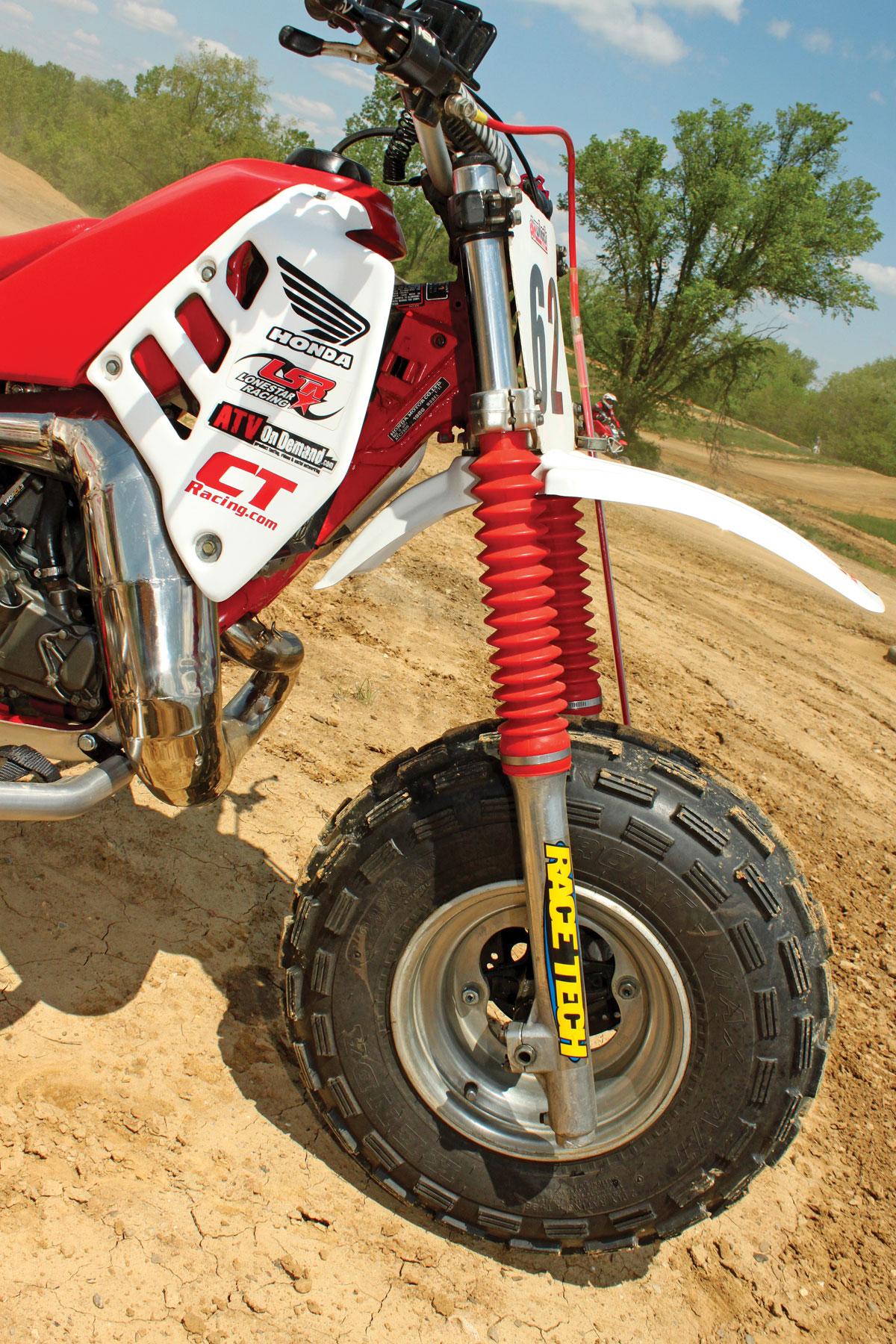 PROJECT ATV: Honda ATC250R | Dirt Wheels Magazine