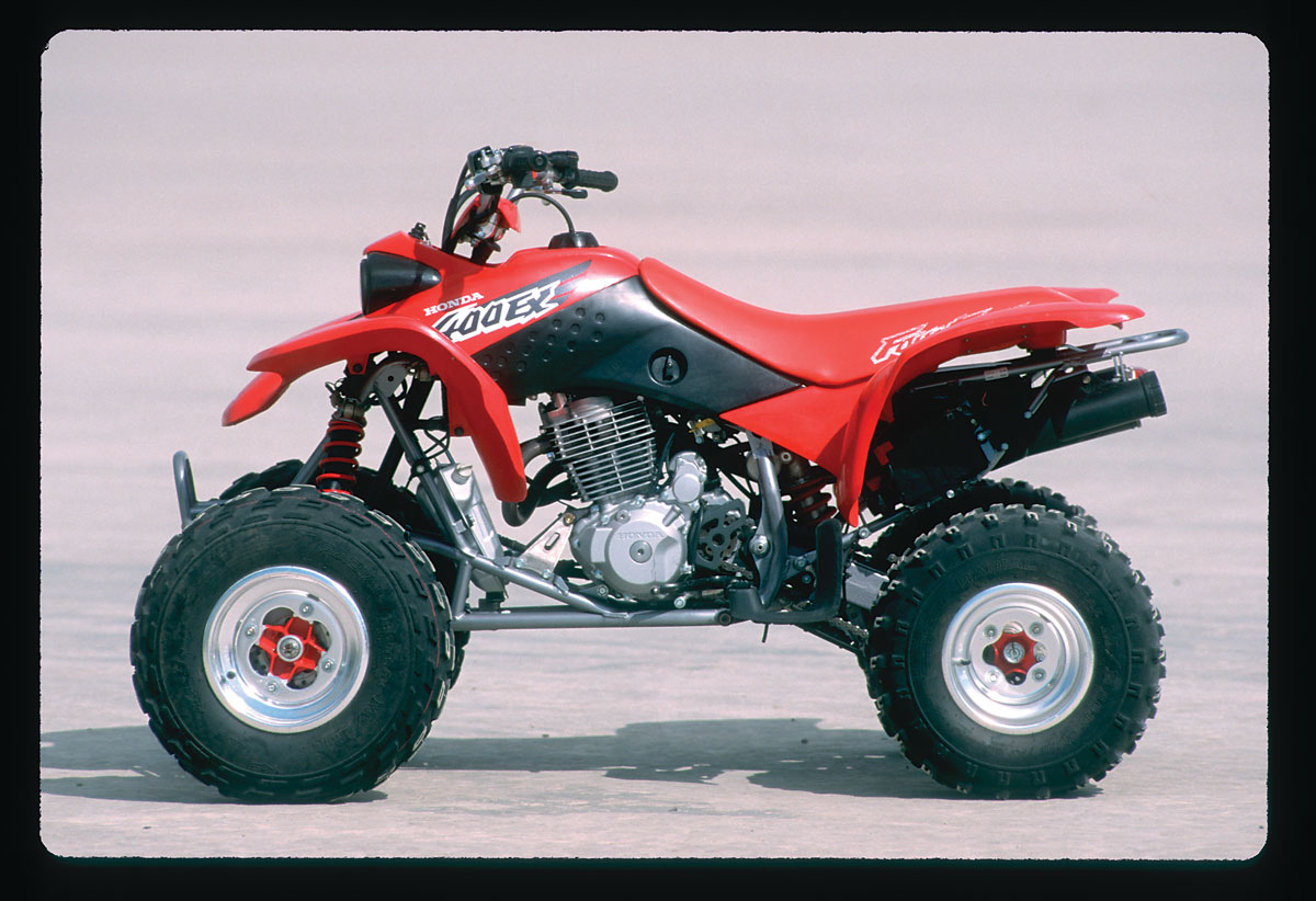 The Life And Times Of Hondas Trx400ex Dirt Wheels Magazine 89 Honda 350 Fourtrax Wiring Diagram Dw 1
