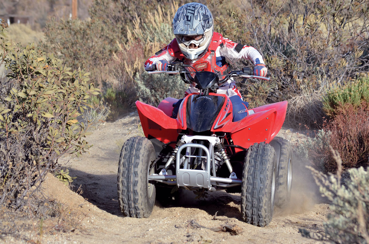2015 Honda TRX90X | Dirt Wheels Magazine