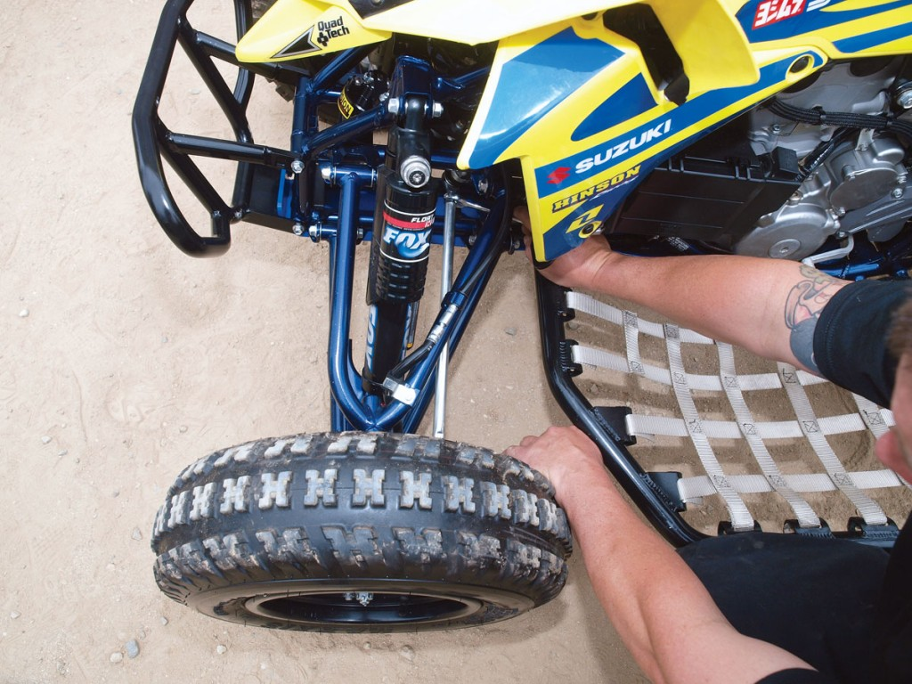 how to fix wheelie walker wheel