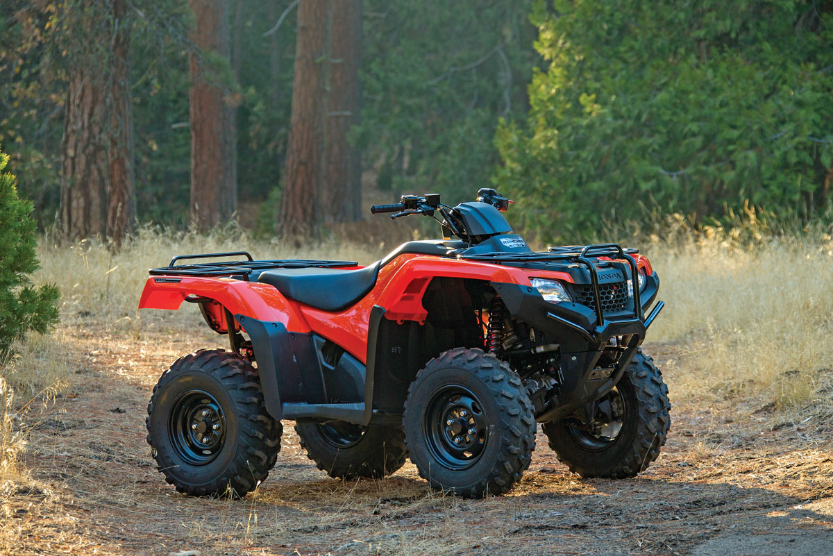Honda 420 Rancher >> 2015 Honda Rancher 420 4x4 Dirt Wheels Magazine