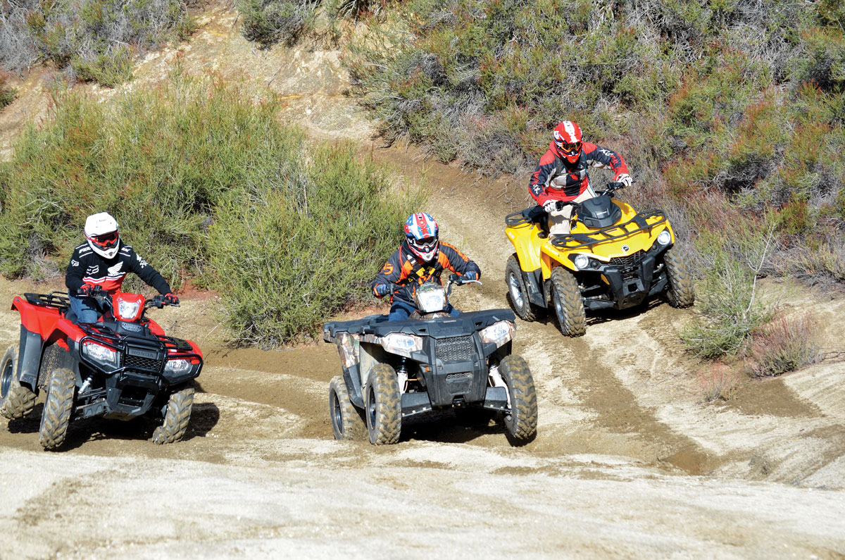 500cc 4x4 Shootout Can Am Vs Honda Polaris Dirt Wheels Magazine Arctic Cat 600 Efi Wiring Diagram 5004x41 Dsc 0848