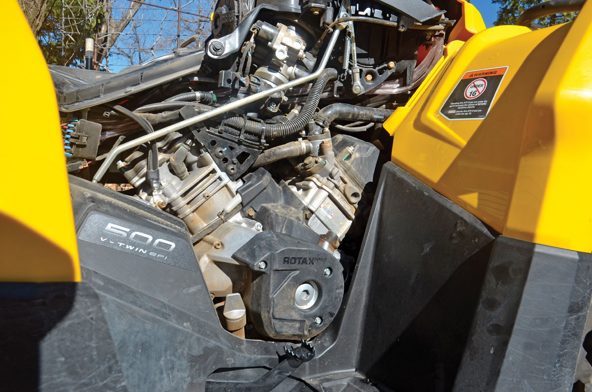 500cc 4x4 Shootout Can Am Vs Honda Polaris Dirt Wheels Magazine Arctic Cat 600 Efi Wiring Diagram 5004x46 Dsc 0337