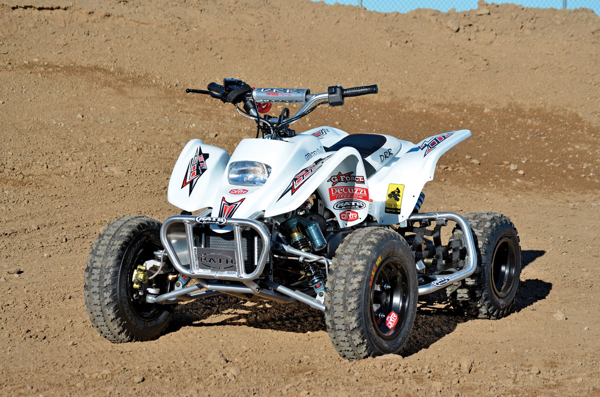 Honda Trx 90 >> ATV TEST: DRR DRX 90 TEST! | Dirt Wheels