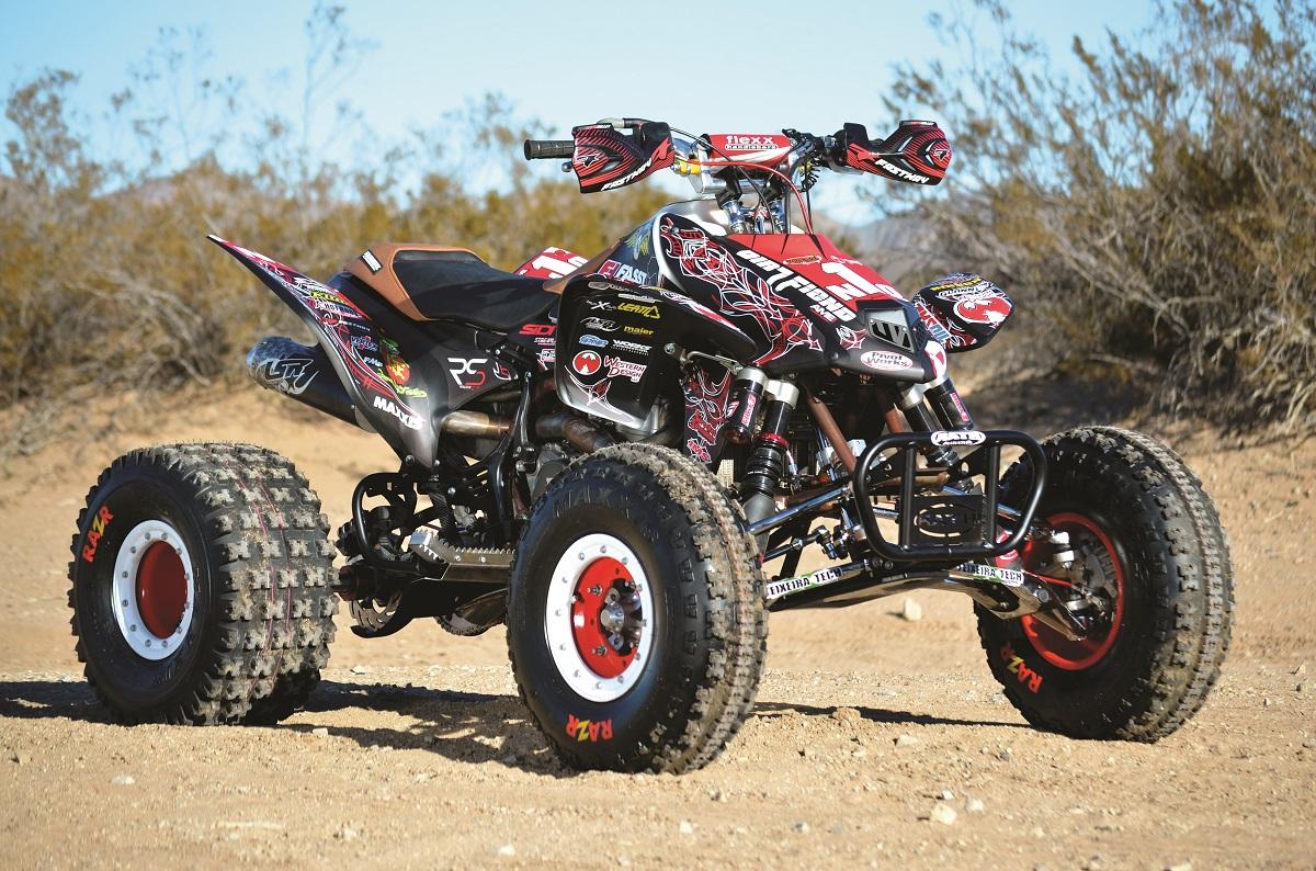 PROJECT ATV: Honda TRX450R Rat Rod Quad | Dirt Wheels Magazine