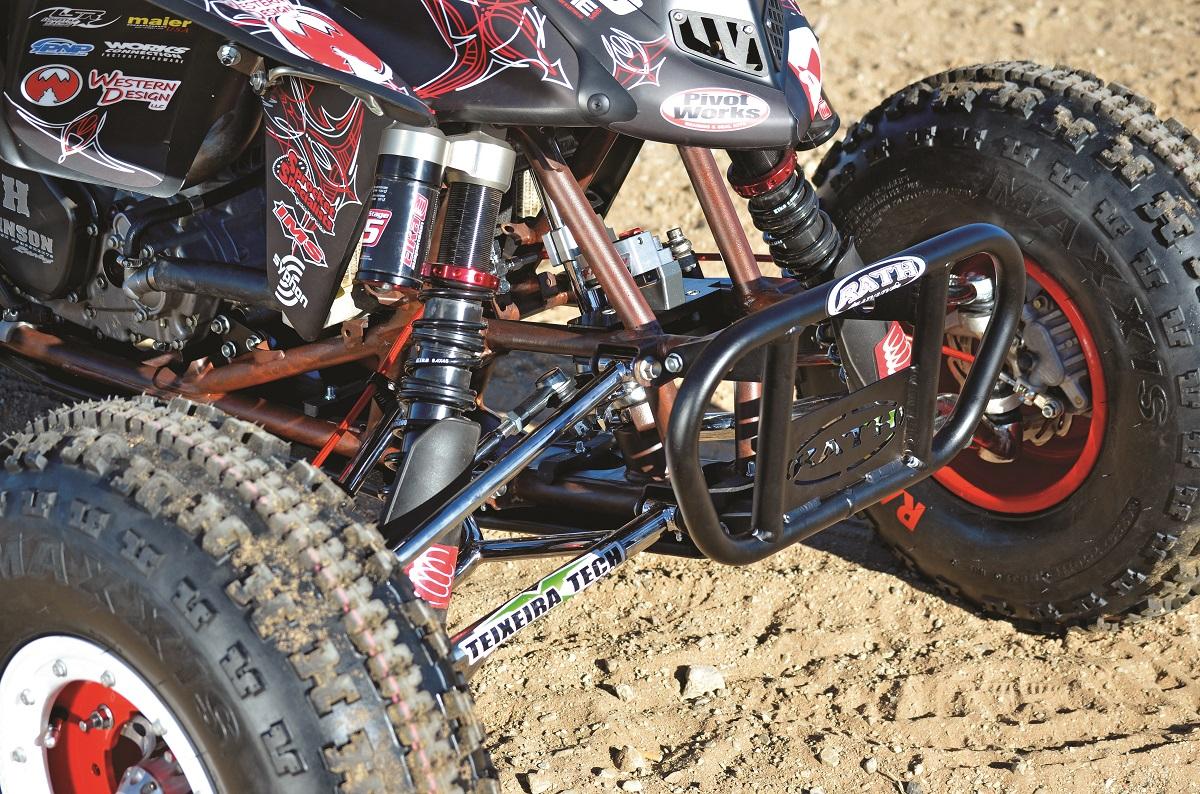 2015 Honda Trx450r >> PROJECT ATV: Honda TRX450R Rat Rod Quad   Dirt Wheels Magazine