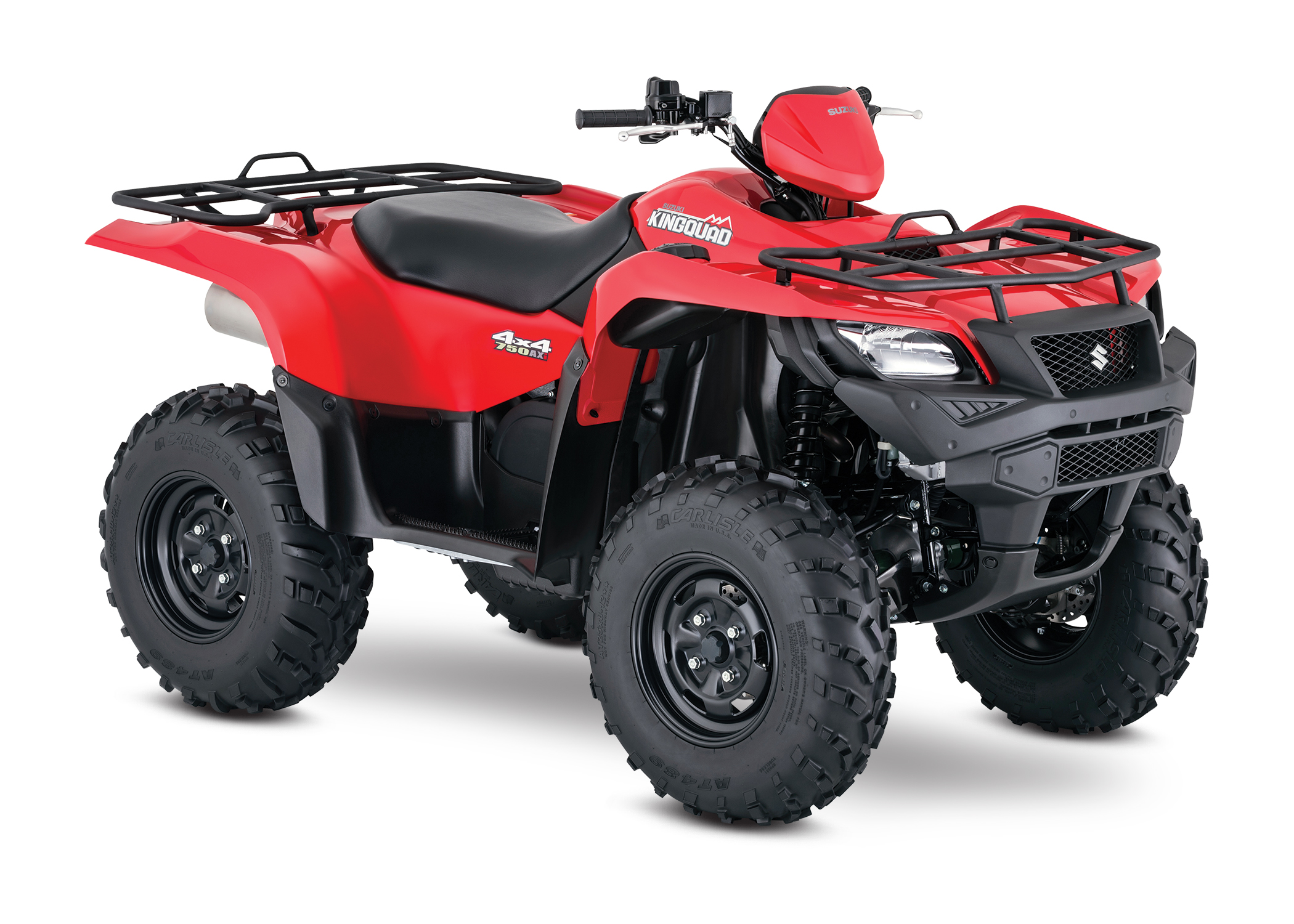 The 2016 Suzuki KingQuad 750AXi returns with the hard-working utility-sport  features that make it a class leader, plus enhancements including a new  front ...