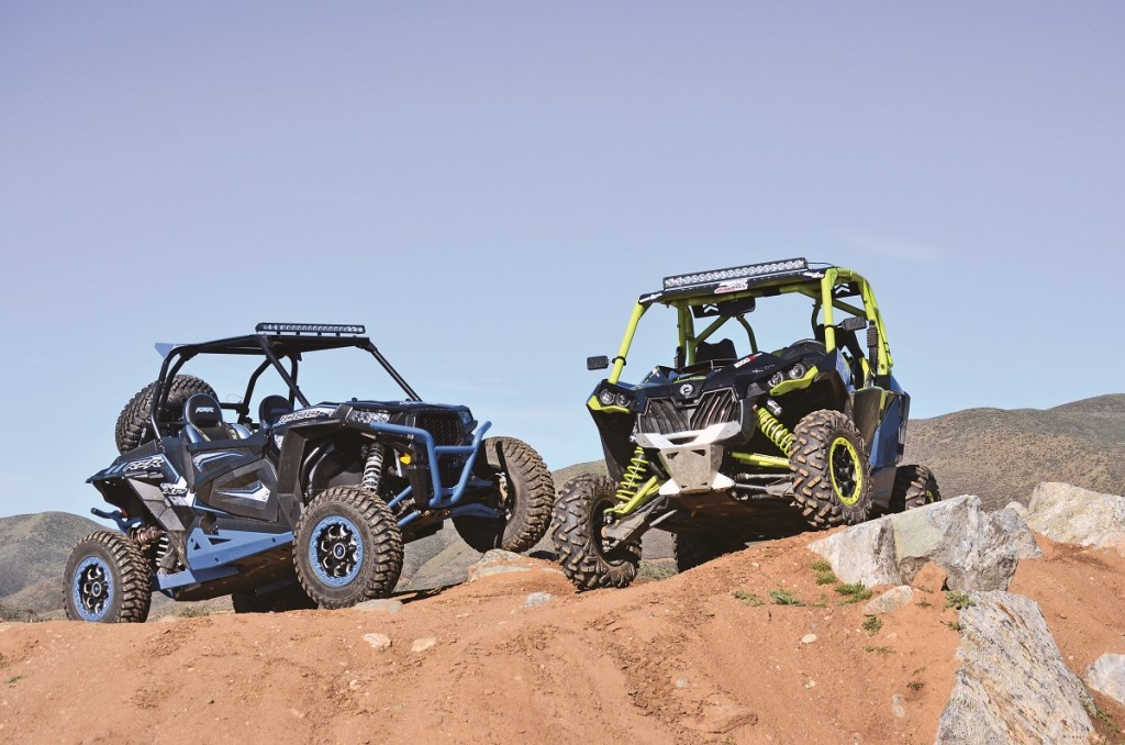 shootout can am turbo maverick 1000 vs polaris desert. Black Bedroom Furniture Sets. Home Design Ideas