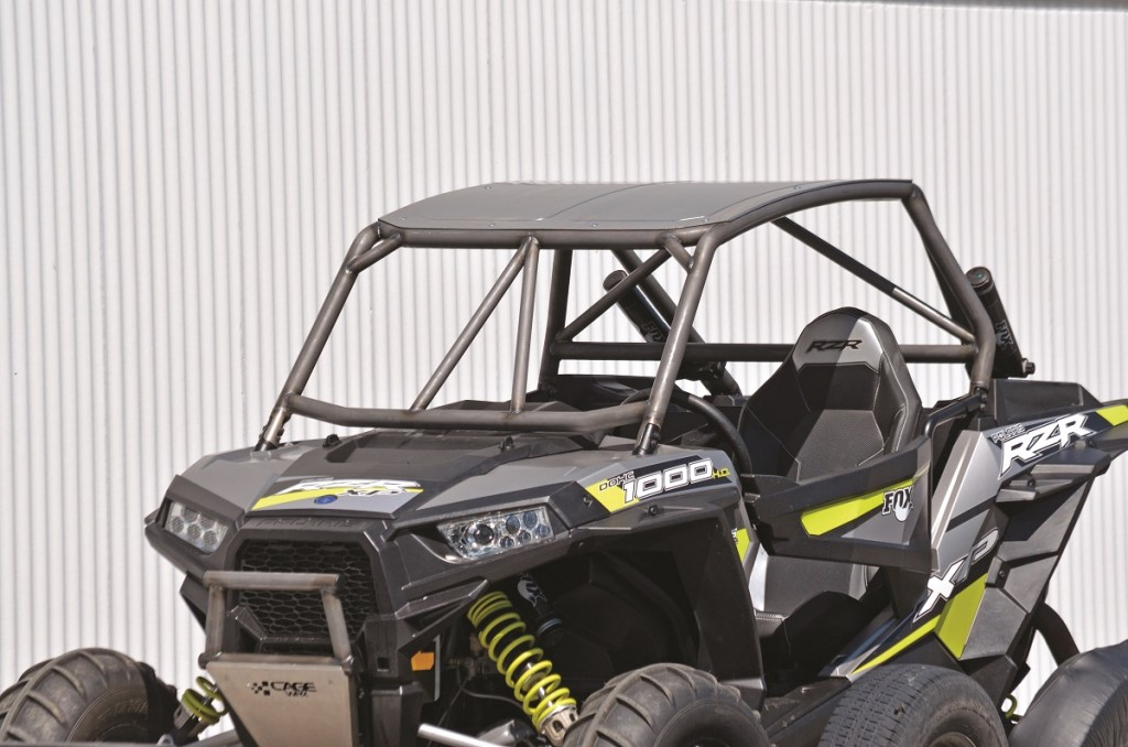 Product Test Cagewrx Rzr Xp 1000 Diy Roll Cage Dirt