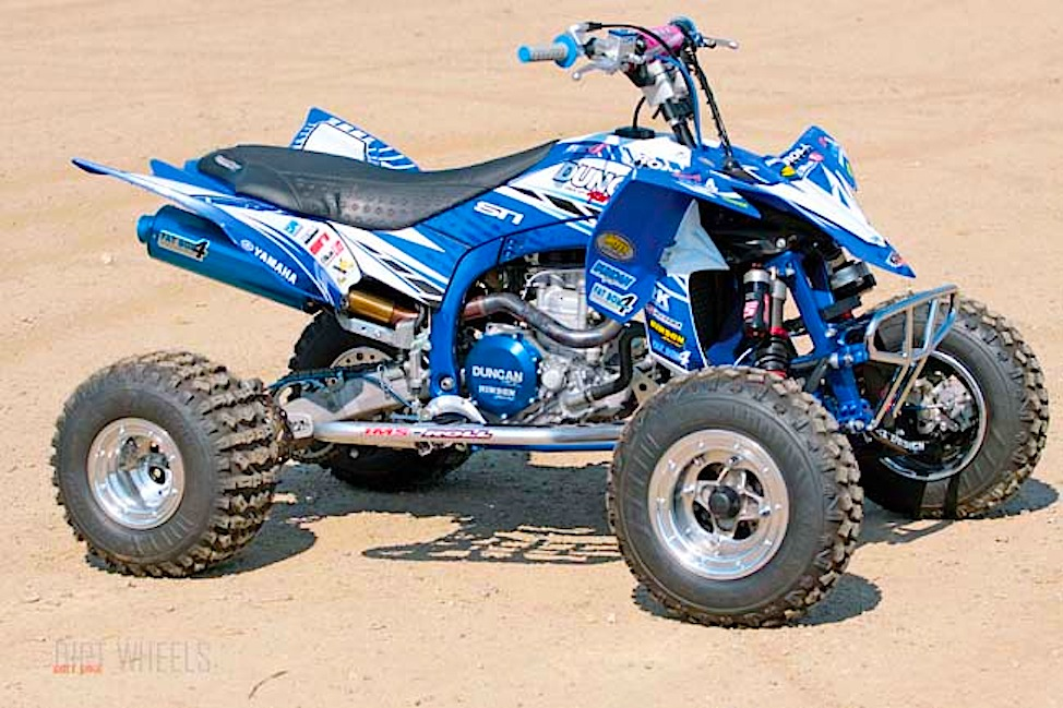 PROJECT ATV: Duncan YFZ450R | Dirt Wheels Magazine