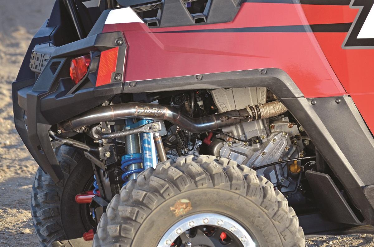 PROJECT UTV: Trinity Racing RZR 570   Dirt Wheels Magazine
