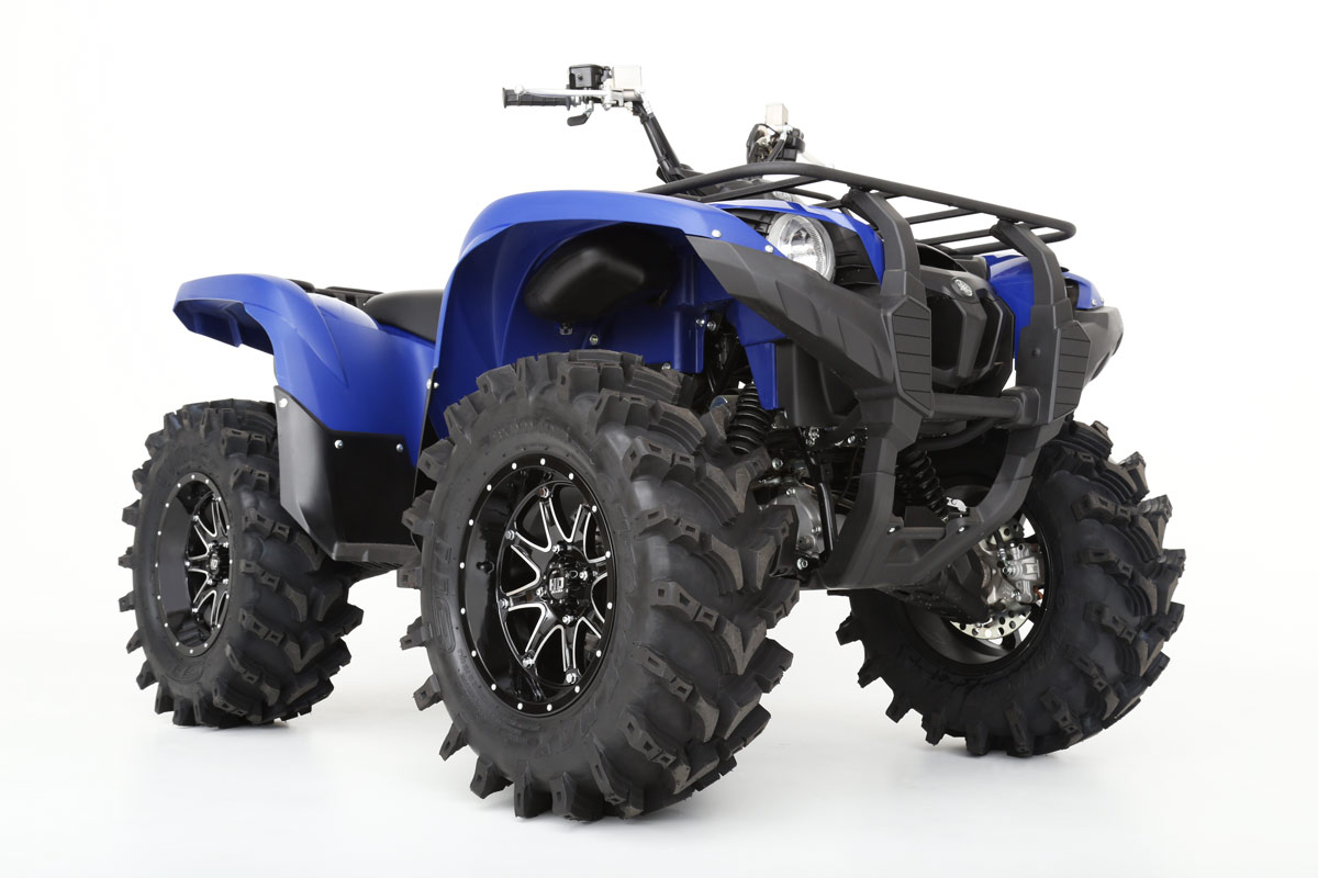 Yamaha Grizzly  Weight