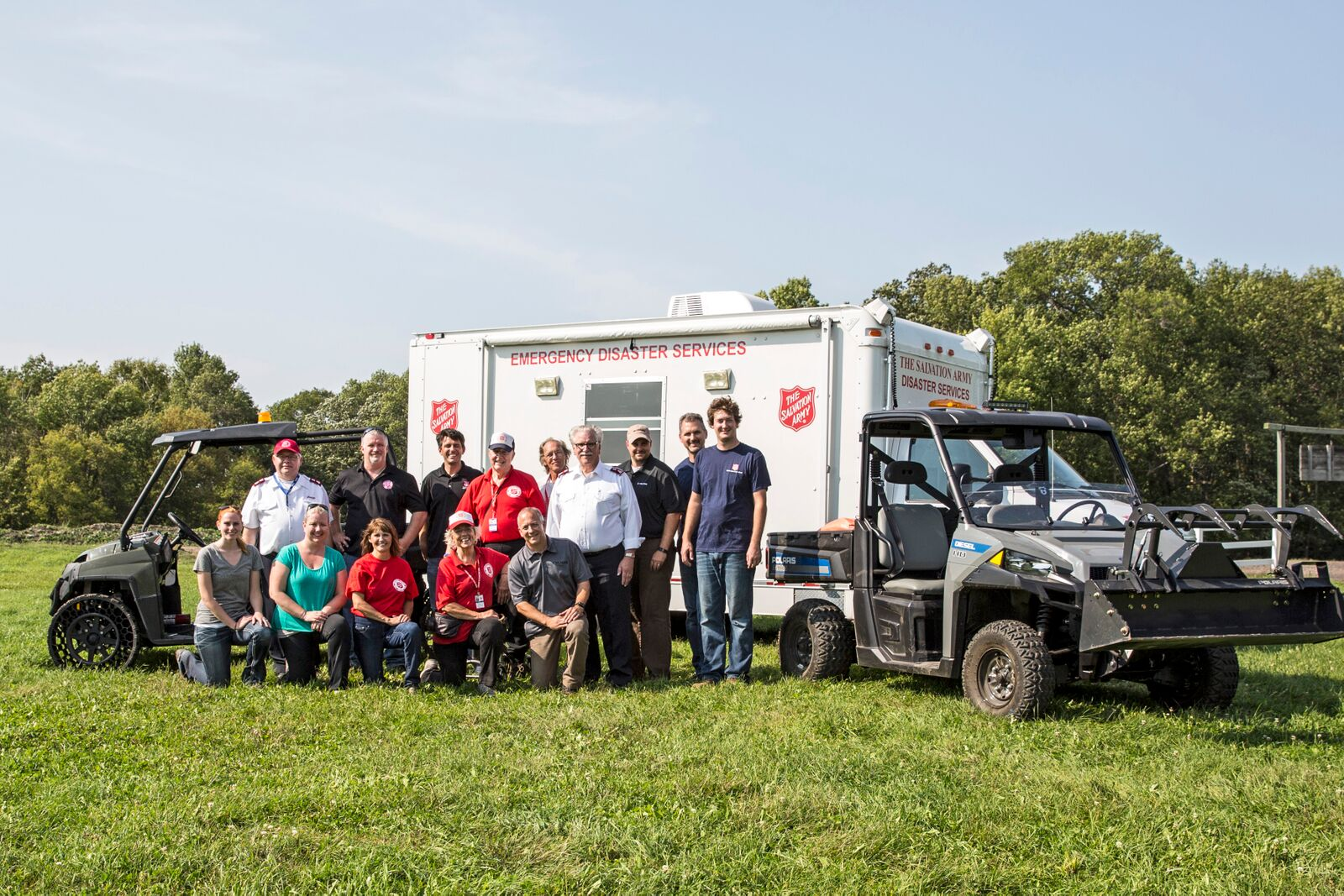 Polaris To Donate Off Road Vehicles To The Salvation Army