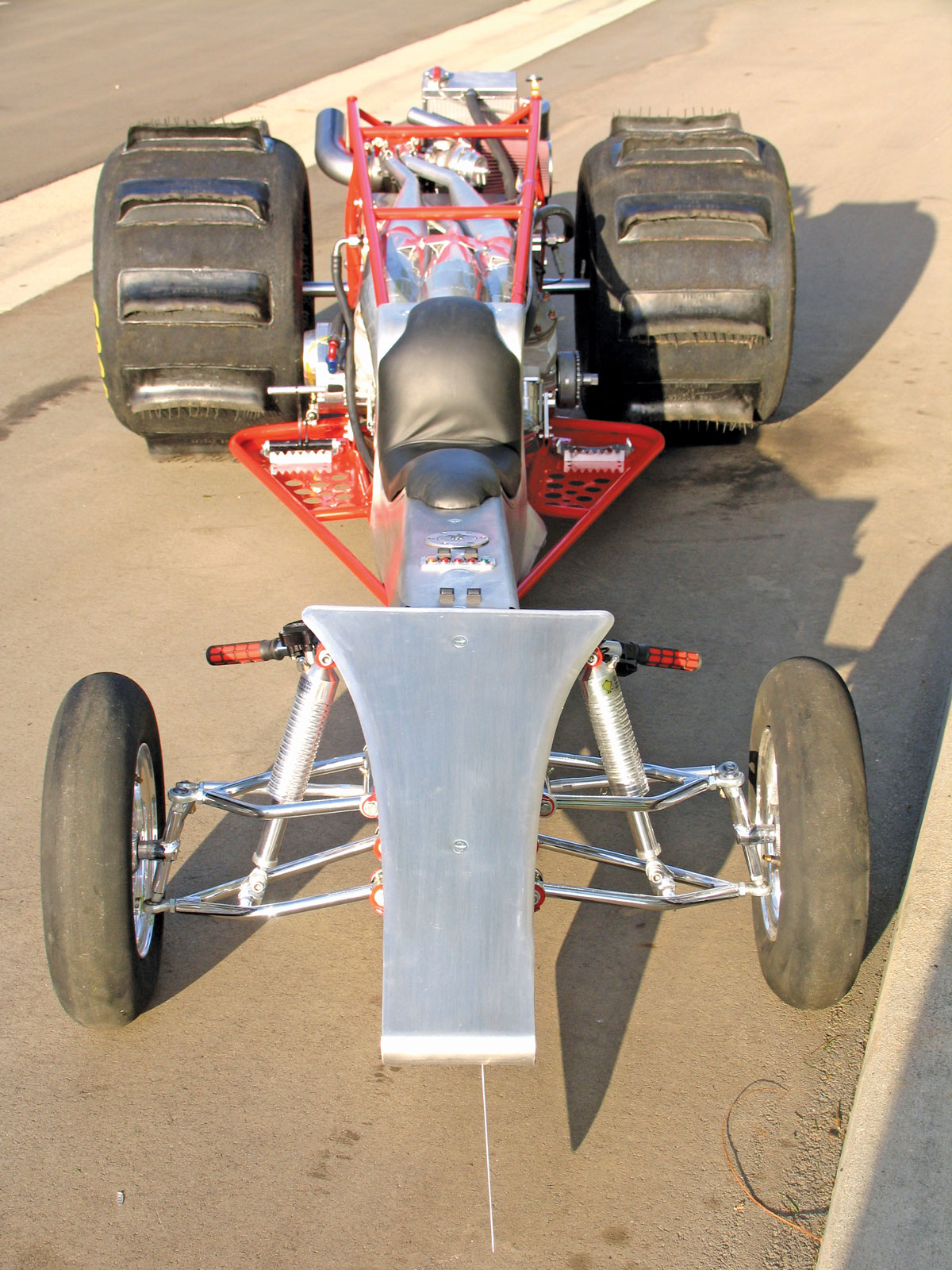 3-CYLINDER TURBO 2-STROKE DRAG QUAD   Dirt Wheels Magazine