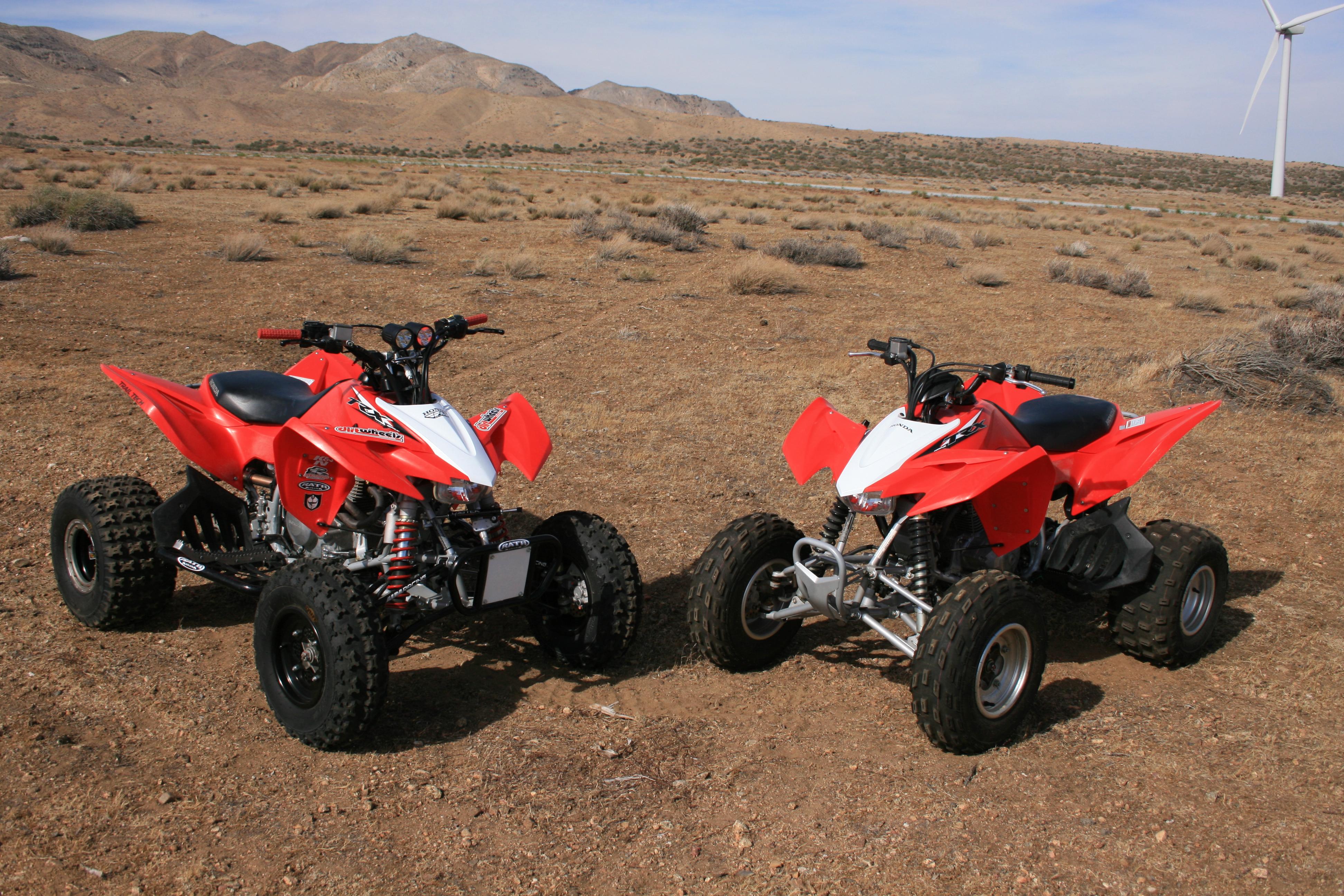 PROJECT ATV: HOPPED-UP HONDA TRX400X | Dirt Wheels Magazine