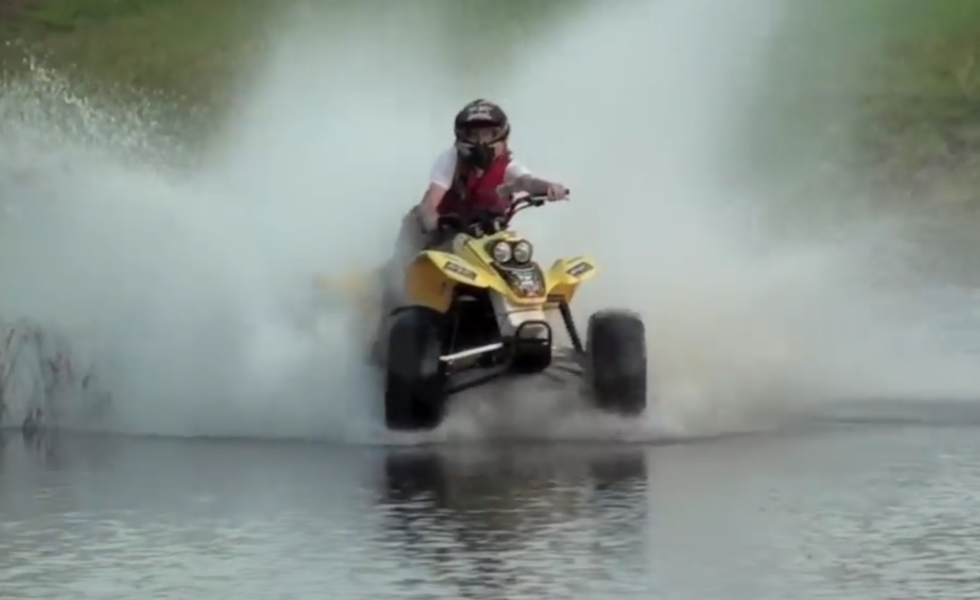Drifting in water