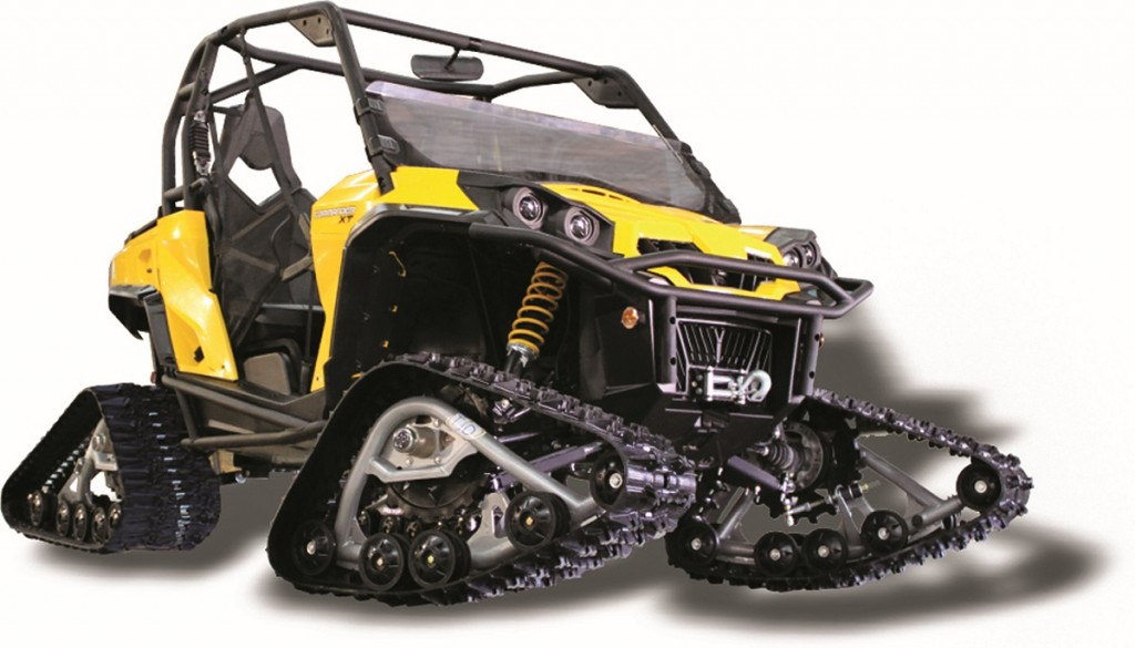Snow Track Kits For Quads Amp Utvs Dirt Wheels Magazine