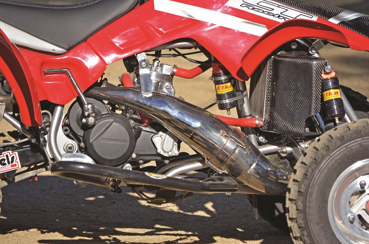 PROJECT ATV: Honda/CT Racing 350R | Dirt Wheels Magazine