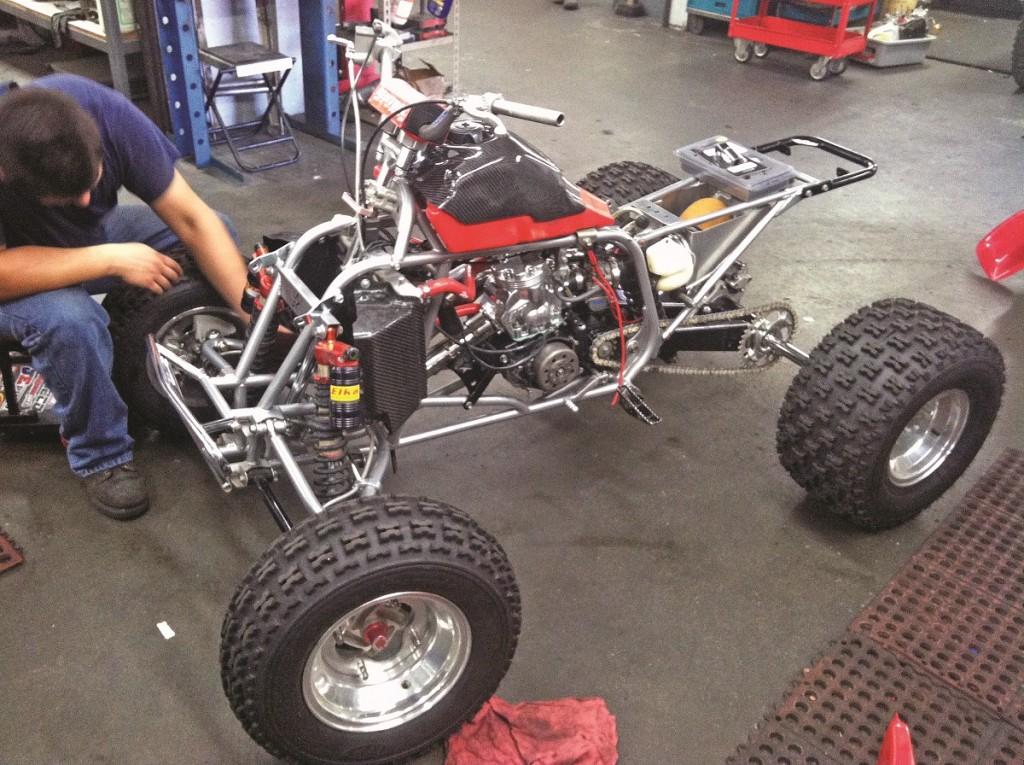 Project Atv Honda Ct Racing 350r Dirt Wheels Magazine