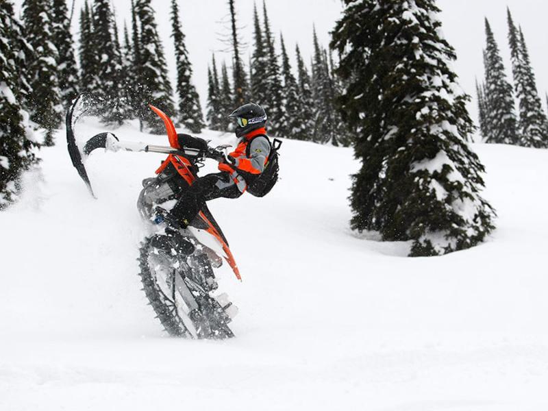 Snow Dirt Bike >> Adding Snow Tracks To Your Dirtbike Dirt Wheels Magazine