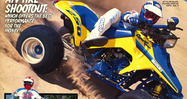 dirt wheels magazine | atv test: 1990 suzuki lt250 quadracer