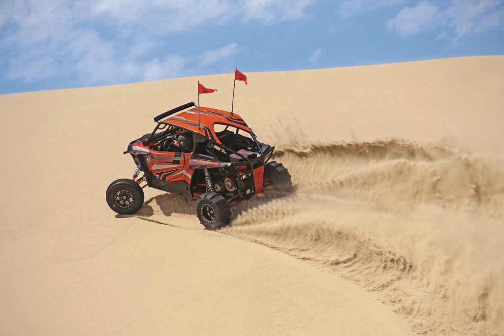 Riders from all over brought out their custom-built sand-shredding UTVs to have a good time in the Oregon sand dunes.