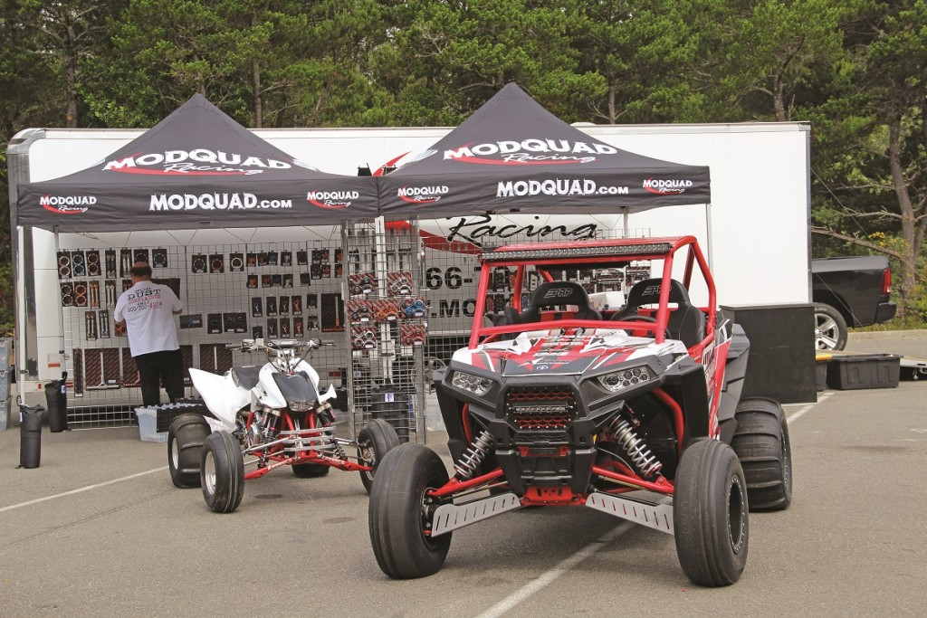 Vendor row is a great place to check out new products from different aftermarket UTV parts and manufacturers.