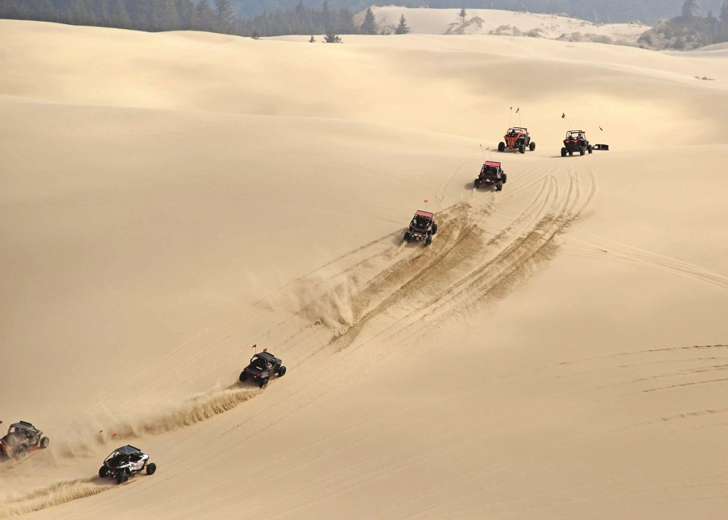 Throughout the event you could take off into the sand dunes for some great riding without a guide.