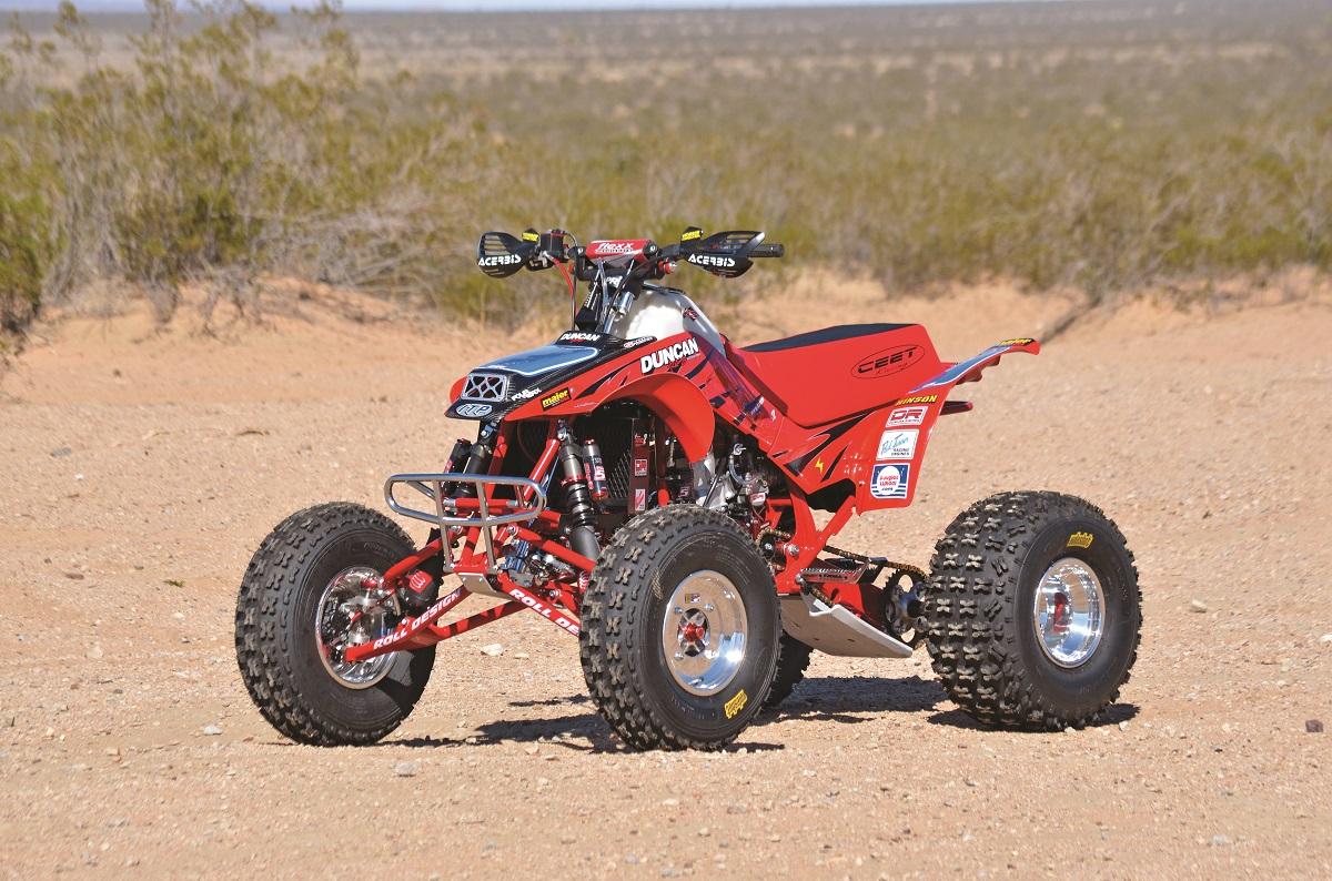Project Atv Duncan Roll Designed Honda Trx250r Lobo Dirt Wheels