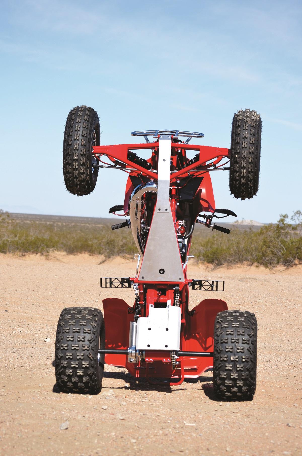 PROJECT ATV: Duncan Roll Designed Honda TRX250R Lobo | Dirt Wheels ...