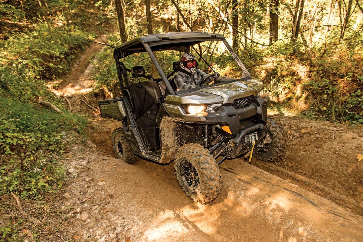 Utv Test Can Am Defender Dirt Wheels Magazine