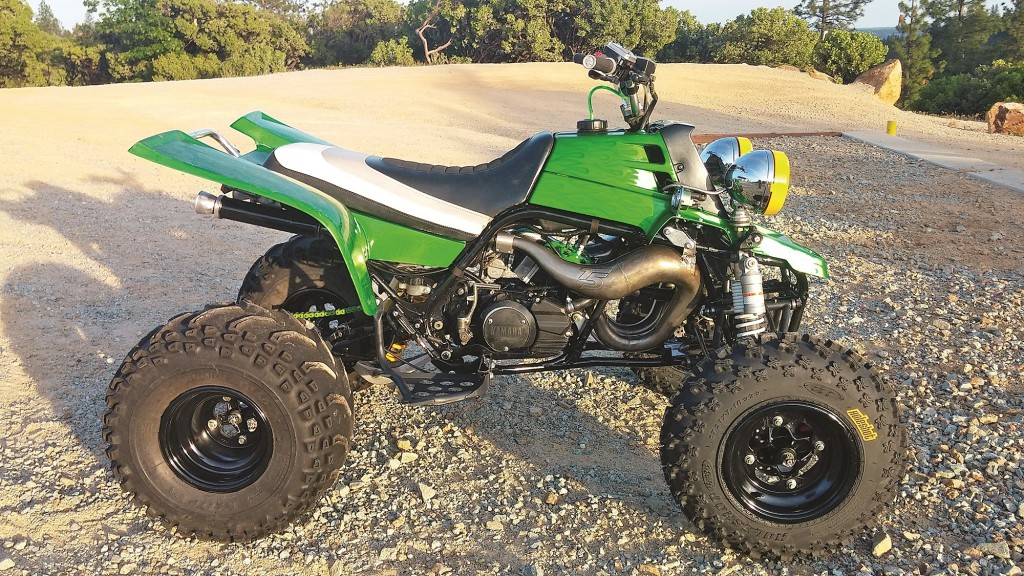 Noah Everett, also known as TrailBlogger, spends his weekends riding the rugged trails of Northern California. He has several quads in his stable, but this 1998 Banshee is his favorite. It has many mods to make it more fun in the dirt as well as the sand.