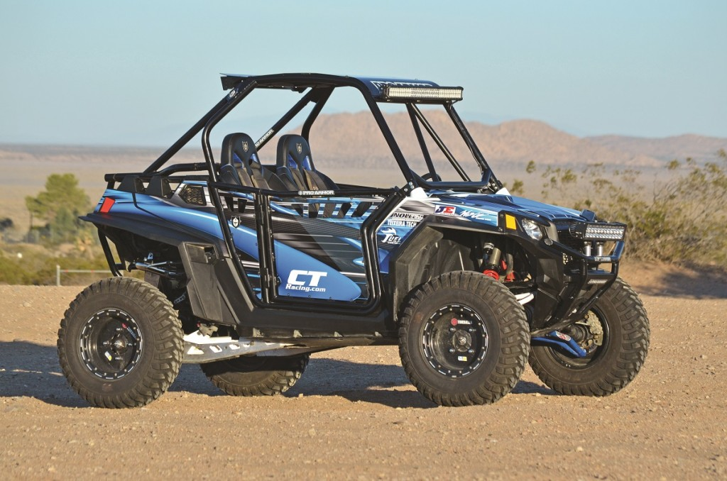 Polaris sold thousands of XP 900s before they came out with the 1000. By now, most of them are modified in some way or another like this. With some mild, reliable motor work from CT Racing, you can make yours as fast as a 1000.