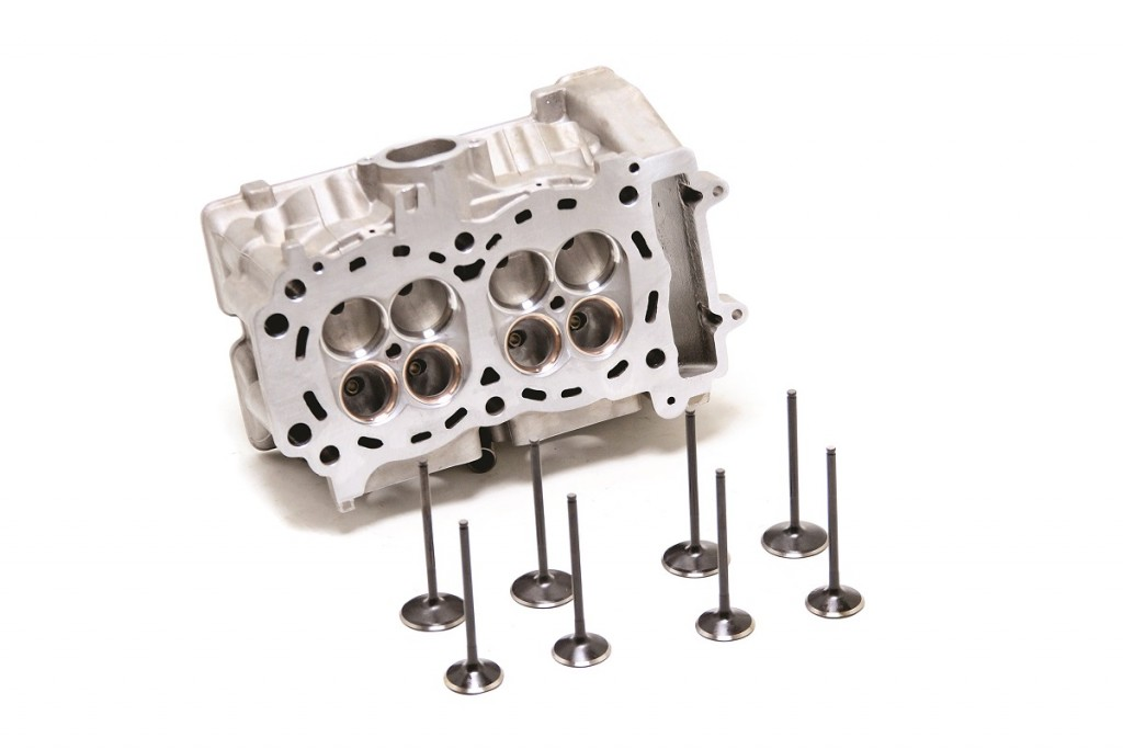 CT Racing's high-output XP motor package is mostly head work and valve matching, along with new standard-bore JE pistons and Web Cam camshafts. The SS valves are all 1mm larger than stock. The package price is $2195.99. Contact CT Racing at www.ctracing.net or directly call (562) 945-2453.