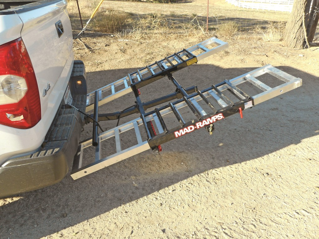 Aluminum Atv Ramps >> PRODUCT TEST: Mad-Ramps Truck Ramp | Dirt Wheels Magazine