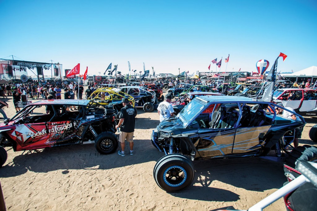 There was a show & shine event, along with other fun events to partake in, like a Walker Evans scavenger hunt and drive-in movie at Camp RZR West.