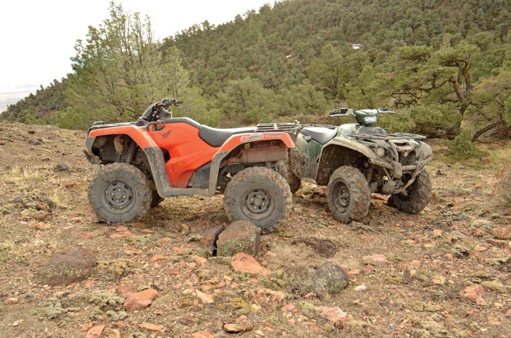 Shootout yamaha kodiak 700 vs honda rancher 420 dirt for Yamaha kodiak 700 top speed